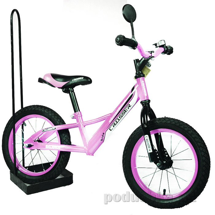 Беговел Crosser Balance bike Air 12 Розовый