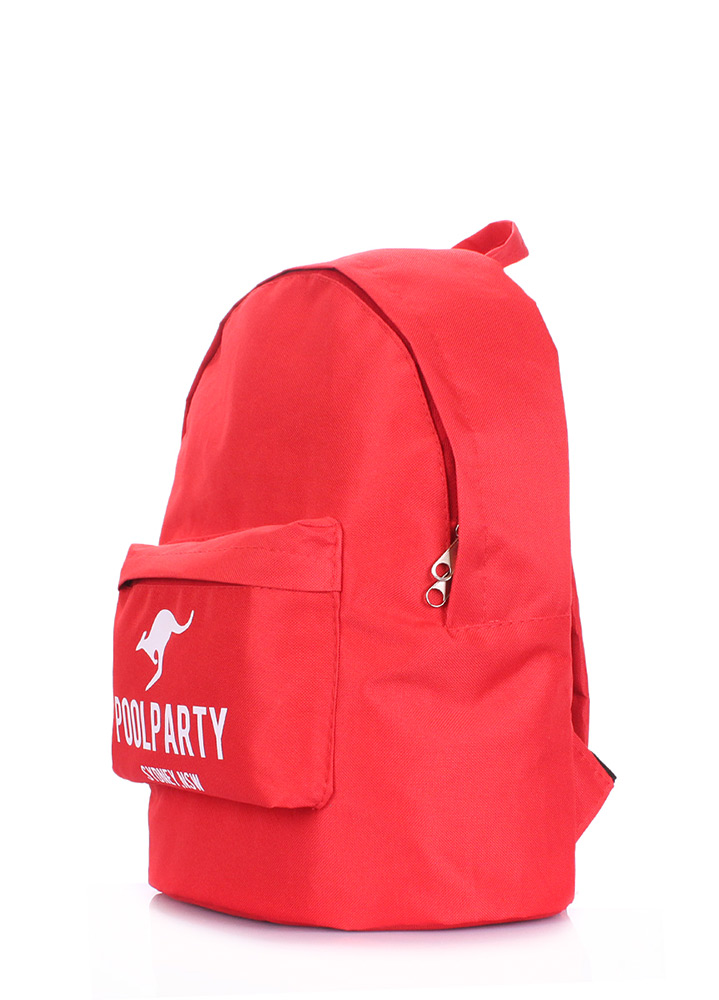 Рюкзак молодежный Poolparty Backpack oxford red